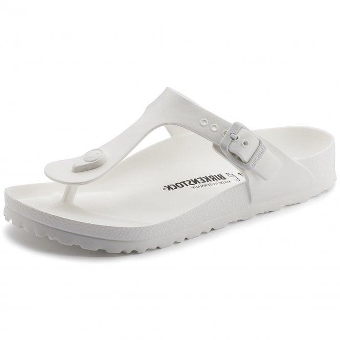 dec230472ef0 Birkenstock Birkenstock Gizeh EVA White Toe Post Sandals ...