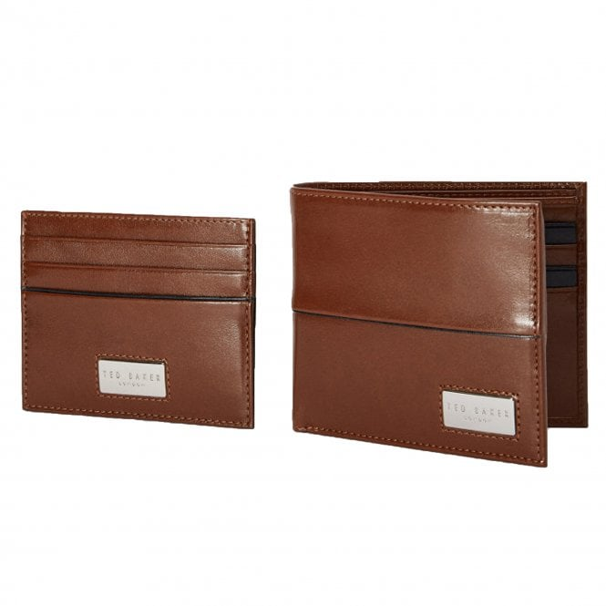 f8a8f01c8 Ted Baker Ted Baker Muese Tan Brown Leather Wallet   Card Holder ...