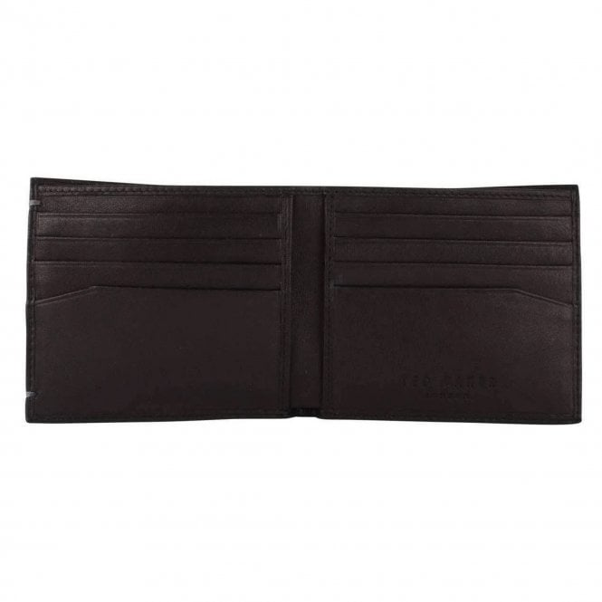 35b10cf17d981 Ted Baker Ted Baker Antonys Leather Bifold Wallet Black