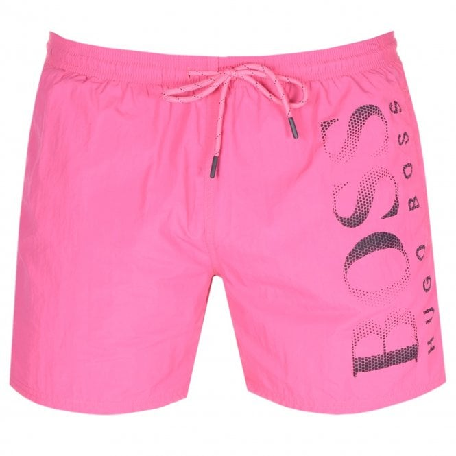 d5cfb949 Hugo Boss Hugo Boss Octopus Swim Shorts Pink 671 50371268 - Hugo ...