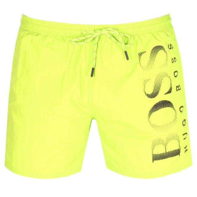 1f6a50e061 Hugo Boss Hugo Boss Octopus Swim Shorts Yellow 731 50371268 - Hugo ...