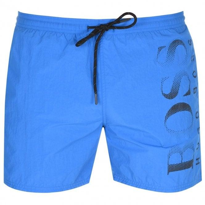 cb63ce26 Hugo Boss Hugo Boss Octopus Swim Shorts Mid Blue 431 50371268 - Hugo ...