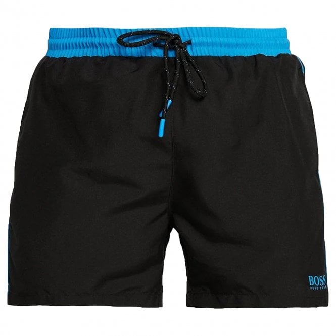 5452c2e4c Hugo Boss Hugo Boss Starfish Swim Shorts Black 001 50408104 - Hugo ...