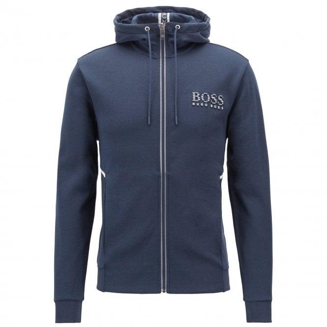 3d4e74695 Boss Green Hugo Boss Saggy Navy Zip Up Hoody Sweatshirt Jacket ...
