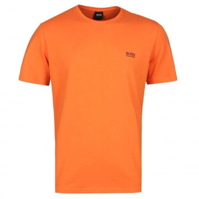 d5a9a5d37 Hugo Boss Mix & Match Short Sleeve Stretch Loungewear T-Shirt Orange  801 50381904