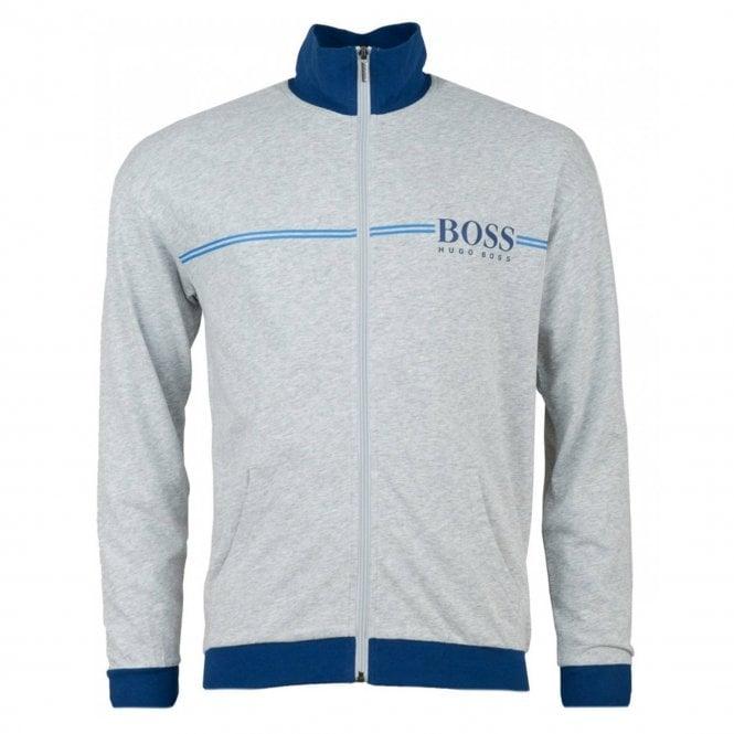 994c17156c8 Hugo Boss Hugo Boss Authentic Jacket Zip Up Loungewear Top Grey 032 ...