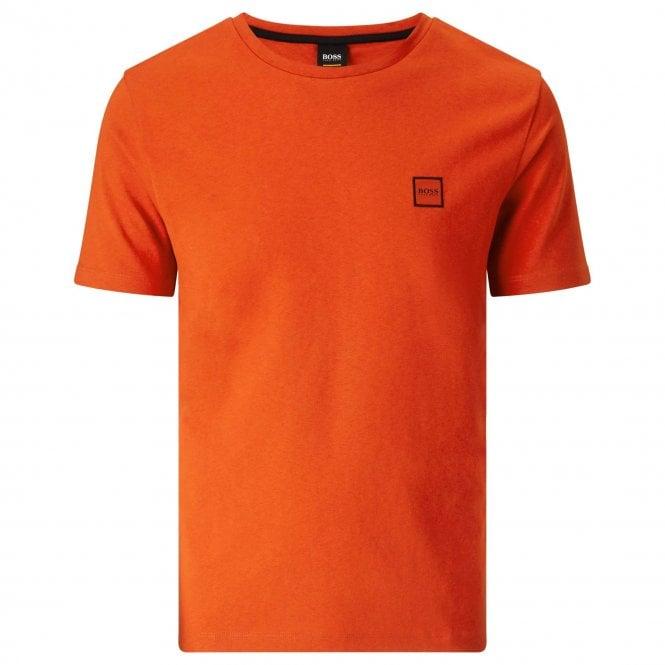 e203e156 Boss Orange Boss Tales Plain T-Shirt Burnt Orange 805 50389364 ...