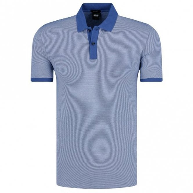 5630ef40a Hugo Boss Hugo Boss Parlay 26 Mid Blue 419 Polo 50402200 - Hugo Boss ...