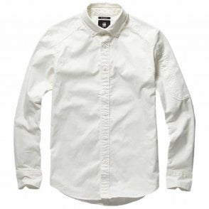 G-Star Raw 3301 Slim Western Grey Denim Shirt D15289 B497 071