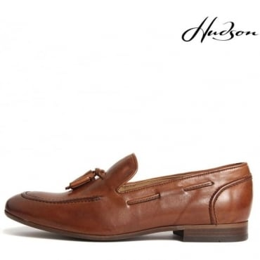 Pierre Tan Slip On Tassle Loafer Shoes