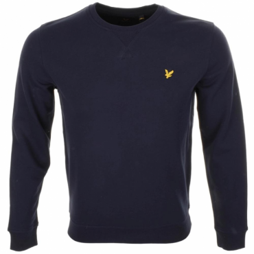 Lyle & Scott Light Navy Crew Neck Sweatshirt ML424V