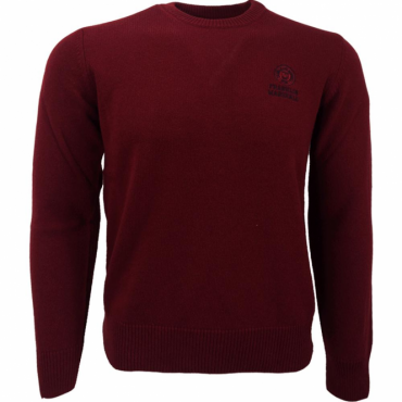 Franklin & Marshall Crew Neck Jumper Bordeaux KNMCA040ANW16