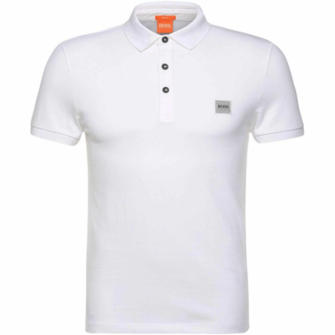 Boss Orange Pavlik Pique Polo White 100 50326320