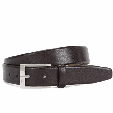 HUGO by Hugo Boss C-Elloy Brown Leather Belt 50322558