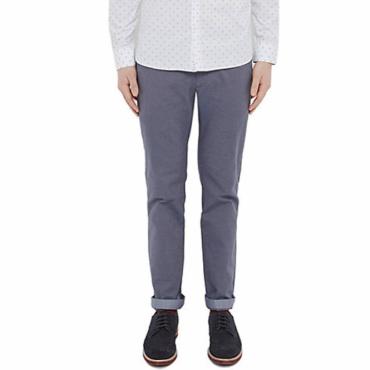 Ted Baker Tegatin Slim Fit Mini Design Trousers Blue