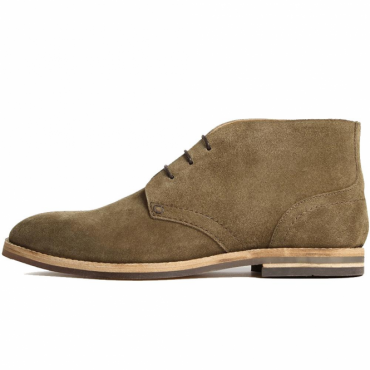 Hudson Houghton 3 Tobacco Suede Chukka Boots