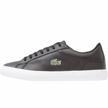 Lacoste Lerond BL CAM Black Leather Trainers