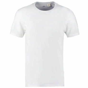 Basic White Crew Neck T-Shirt 82176-0002
