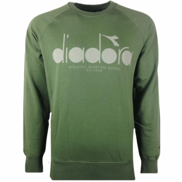 Diadora Green Crew Neck Sweatshirt 502.161925