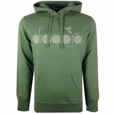Diadora Green Hooded Sweatshirt 502.161899