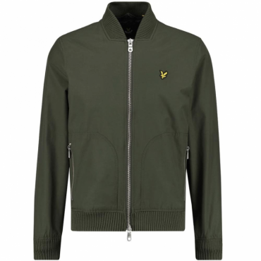 Lyle & Scott Dark Sage Bomber Jacket JK405V