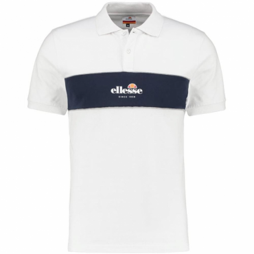 Ellesse Pirlo Short Sleeve Jersey Polo White