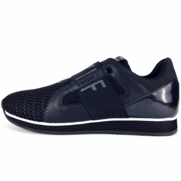 Cruyff Classics Rapid 117 Black Cell Mesh Trainers