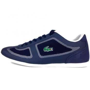 Lacoste Misano EVO 117 Navy Blue Trainers