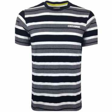 Converse All Star Black Striped T-Shirt 10003393