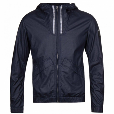 Replay Navy Blue Hooded Jacket M8817