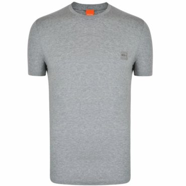 Hugo Boss Tommi UK Plain T-Shirt Grey 50328440