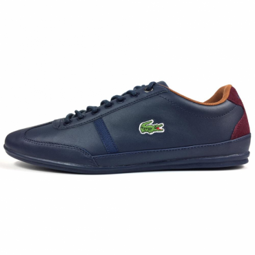 Lacoste Misano Sport 317 Navy Trainers
