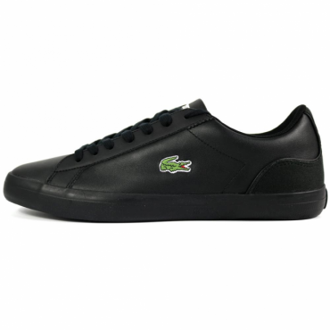 Lacoste Lerond 317 Black Leather Trainers