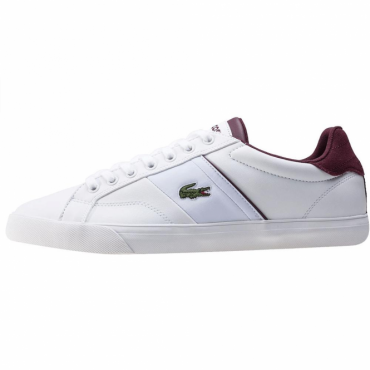 Lacoste Fairlead 317 White Leather Trainers