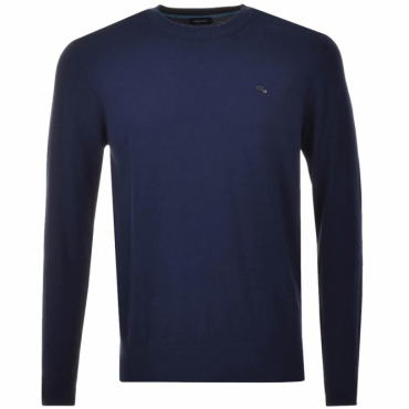 Diesel K-Pablo Thin Knit Jumper Dark Blue