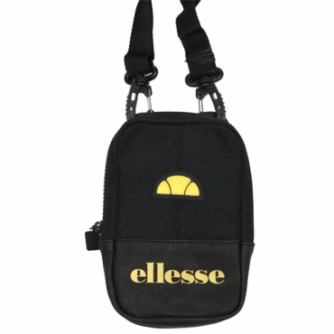Ellesse Ruggero Small Side Bag Black/Black