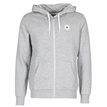 Converse All Star Grey Zip-Up Hoody Sweat 10004627