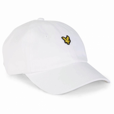 89e7dd3b14c Lyle   Scott Logo White Baseball Cap HE503A