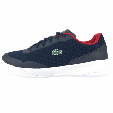 Lacoste LT Spirit 117 1 Navy Red Trainers