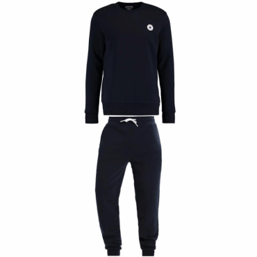 Converse Navy Crew Neck Full Tracksuit 10004629