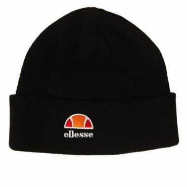 006ac6f8c46a20 Ellesse Logo Aielle Basic Beanie Hat Black