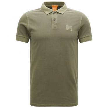 Boss Orange Pavlik Pique Polo Khaki Green 309 50326302