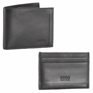 HUGO by Hugo Boss Leather Wallet & Cardholder Gift Set 50375458