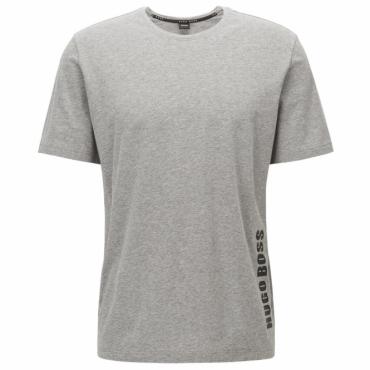228d7b2e4e1 Hugo Boss T-Shirt RN Logo Grey Stretch 50378622
