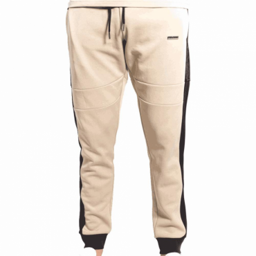 Foray Invictus Jogger Nomad Sand Black Jogging Bottoms