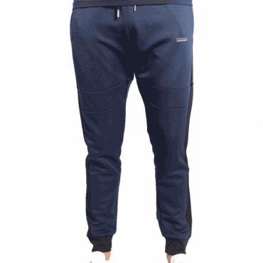 Foray Invictus Jogger Navy Black Jogging Bottoms