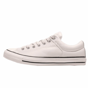Converse All Star Egret Cream Leather Ox Trainers 157571C