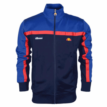 Ellesse Fonda Blue Navy Zip Up Tracktop