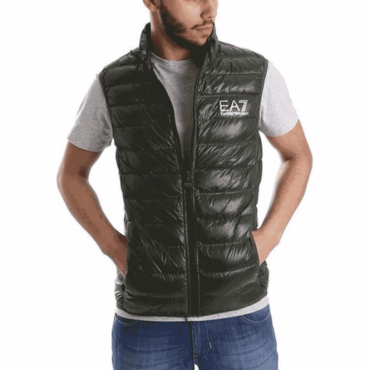 Emporio Armani EA7 Ultra-Light Down Gilet Green 8NPQ01 PN29Z