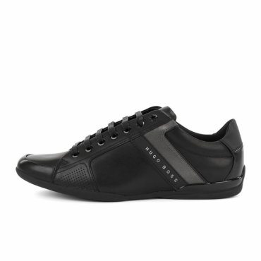 Hugo Boss Space_Lowp_Lux Black Trainers 50379246